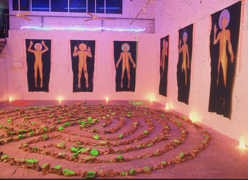 """Labyrinth and Virtues"", Australia 1998"