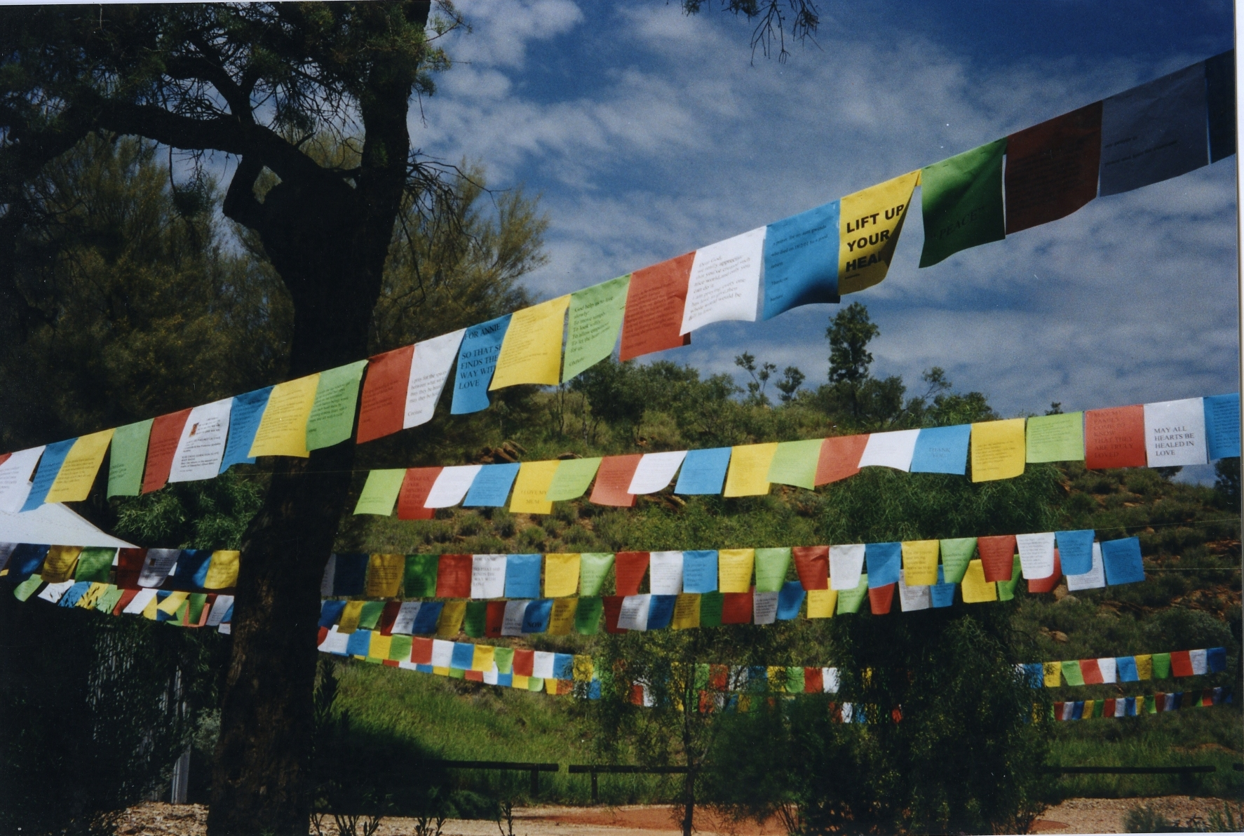 Prayerflags Installation 2001